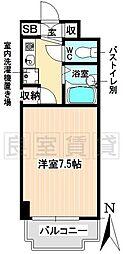 愛知県名古屋市千種区吹上2の賃貸マンションの間取り