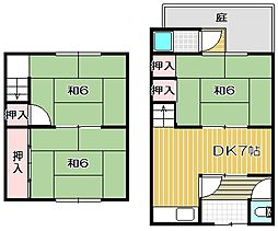 [テラスハウス] 大阪府高槻市如是町 の賃貸【/】の間取り