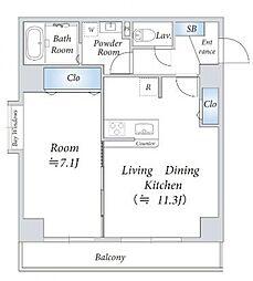 インシュランスビル6[3階]の間取り