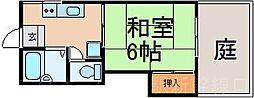 広島県広島市東区尾長東2丁目の賃貸アパートの間取り