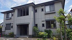 愛知県安城市箕輪町東山の賃貸アパートの外観