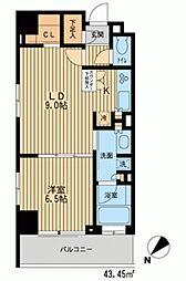 HF新横浜レジデンス[0406号室]の間取り