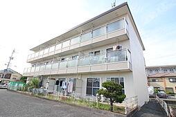 岡山県岡山市北区奥田南町の賃貸マンションの外観