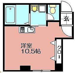 Maison de HANAZO[205号室]の間取り