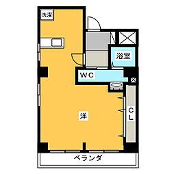 フルカワ第2ビル[2階]の間取り