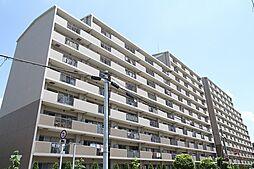 大阪府豊中市城山町3丁目の賃貸マンションの外観