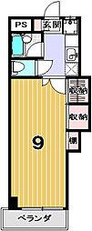 学生の家・紫野[102号室]の間取り
