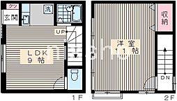 4556−坂井方[1階]の間取り