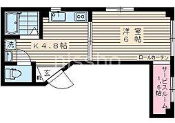 7222−Walea(ワレア)[301号室]の間取り