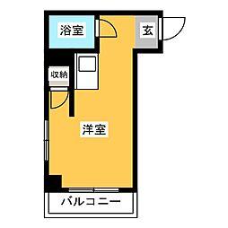 サンライト警固ビル[3階]の間取り