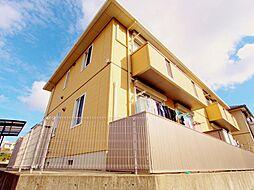 広島県安芸郡熊野町呉地1丁目の賃貸アパートの外観