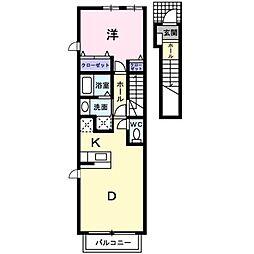 ポラリスIII[2階]の間取り
