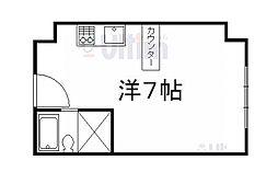 コーポさかき[3階]の間取り