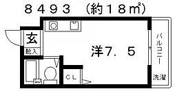ハイツ住吉II[303号室号室]の間取り
