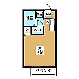 バンブーコート[1階]の間取り