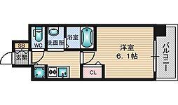ララプレイス新大阪シエスタ[3階]の間取り