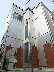 東京都文京区水道1丁目の賃貸アパートの外観