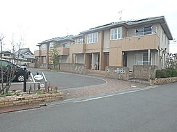 兵庫県加古川市別府町西脇2丁目の賃貸アパートの外観