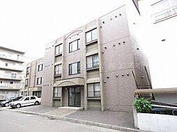 北海道札幌市東区北二十六条東18丁目の賃貸マンションの外観