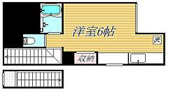 サザンクロス板橋II[2階]の間取り