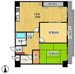 マンションウイステリア[2階]の間取り