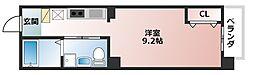 TKアンバーコート宿院[9階]の間取り