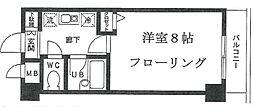 ドルックス横浜[4階]の間取り