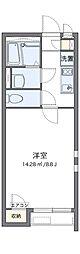 JR鹿児島本線 鳥栖駅 徒歩21分の賃貸アパート 1階1Kの間取り