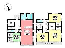 越戸駅 3,980万円