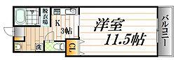 第2オーシャンハイツ[6階]の間取り
