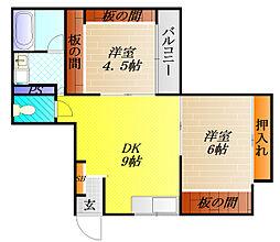 メゾン高殿[3階]の間取り