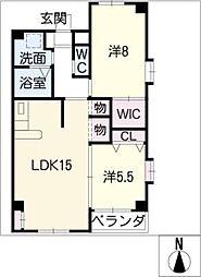 ボンハウス[4階]の間取り