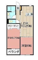 R's Residence愛宕[102号室]の間取り