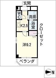 ノーブル コート[9階]の間取り