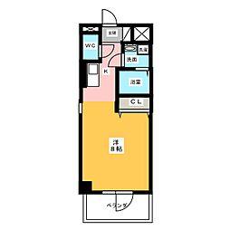 仮)サン・名駅太閤ビル[12階]の間取り