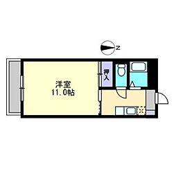 エトワール水島[402号室]の間取り