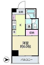 K・C・B神台[5階]の間取り
