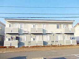 茨城県龍ケ崎市長山6丁目の賃貸アパートの外観