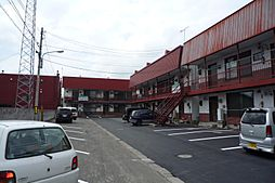 NNマンション[A6号室]の外観