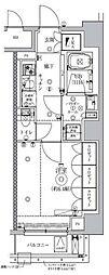 セジョリ虎ノ門 5階1Kの間取り
