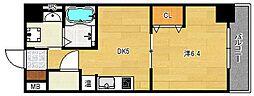 第16関根マンション[4階]の間取り