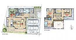 建物参考プラン:収納豊富な大型4LDK延床面積/118.87平米