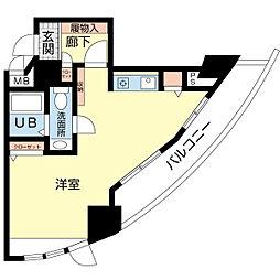 新潟ダイカンプラザ遊学館[3階]の間取り