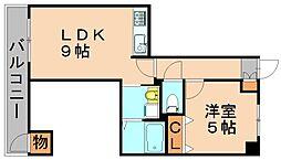 ファーストレジデンス[2階]の間取り