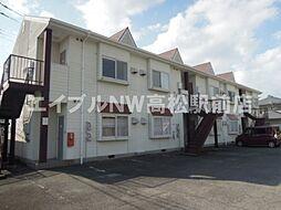 香川県高松市牟礼町牟礼の賃貸アパートの外観