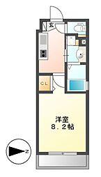 タウンライフ覚王山北[1階]の間取り