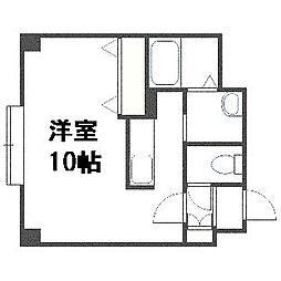 K・s Stage Asahimachi[2階]の間取り