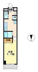 グランツ丸の内[5階]の間取り