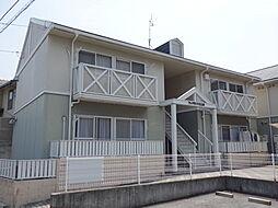 広島県広島市東区牛田中1丁目の賃貸アパートの外観