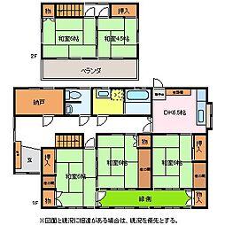 [一戸建] 長野県松本市村井町北2丁目 の賃貸【/】の間取り